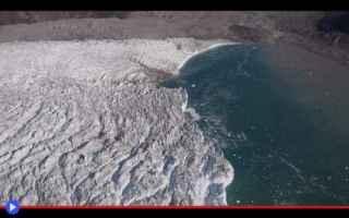 dal Mondo: scienza  ghiaccio  groenlandia  ghiaccio