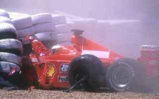 Formula 1: formula 1  ferrari  schumacher incidente