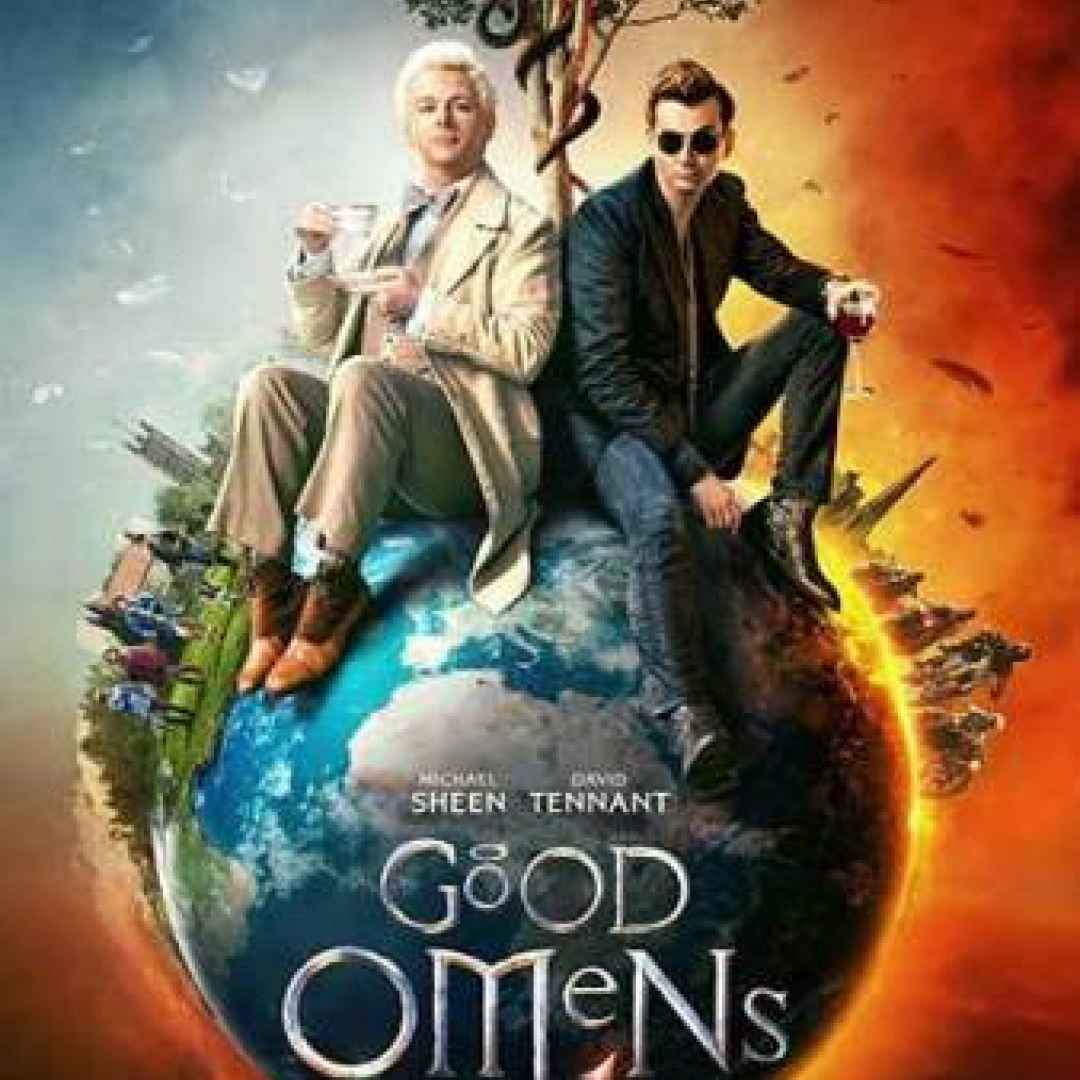 good omens  streaming  amazon serie tv