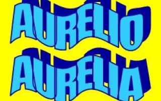 Storia: aurelio  etimologia  origine  significat