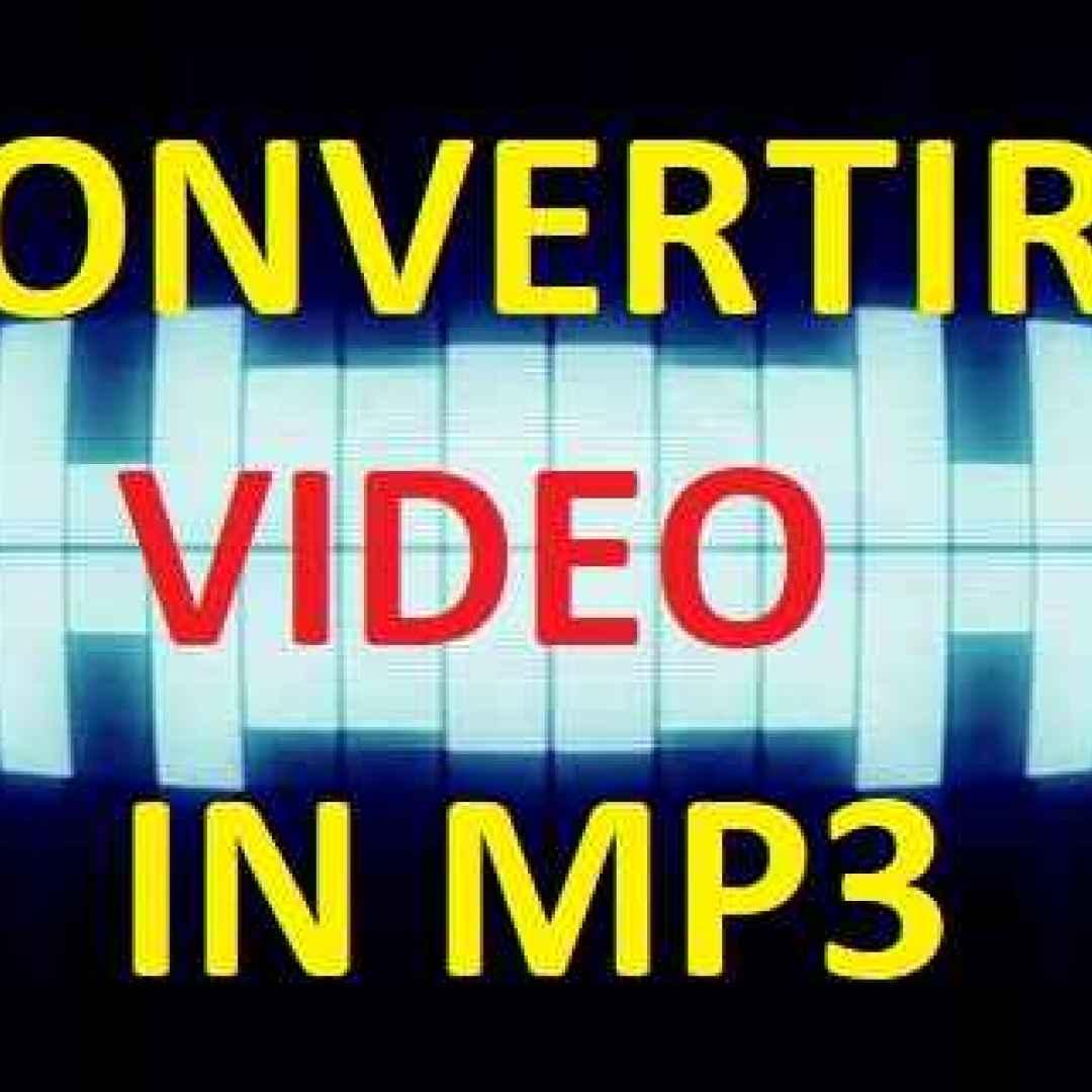 Impara a convertire i video in mp3