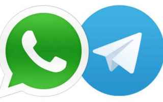 Social Network: whatsapp  telegram  app  ios android