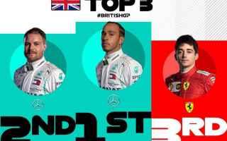 Pronostici confermati in Gran Bretagna, dove lidolo di casa Lewis Hamilton stabilisce un nuovo recor