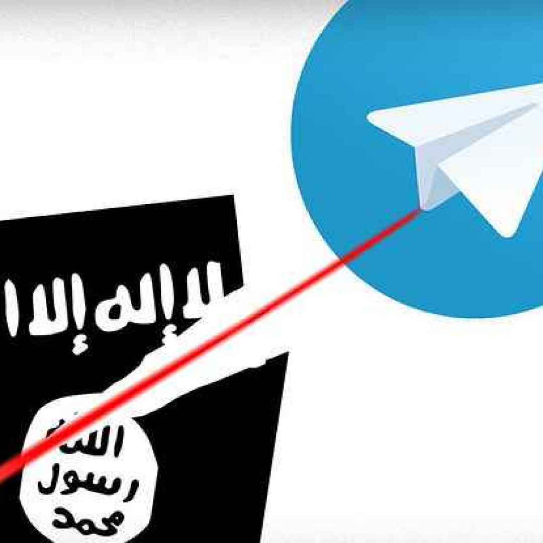 isis telegram app social