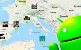 Tecnologie: foto viaggi android geolocalizzazione