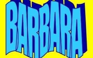 Storia: barbara  significato  etimologia  nome
