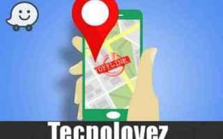 App: waze senza internet mappe