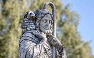 Religione: buon pastore  gesù  gregge  pecore