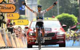 Ciclismo: TOUR DE FRANCE: TRENTIN REGALA LA 2 VITTORIA ALL