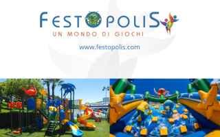 scivoli gonfiabili festopolis playground