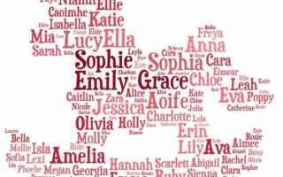 Amore e Coppia: nomi femminili