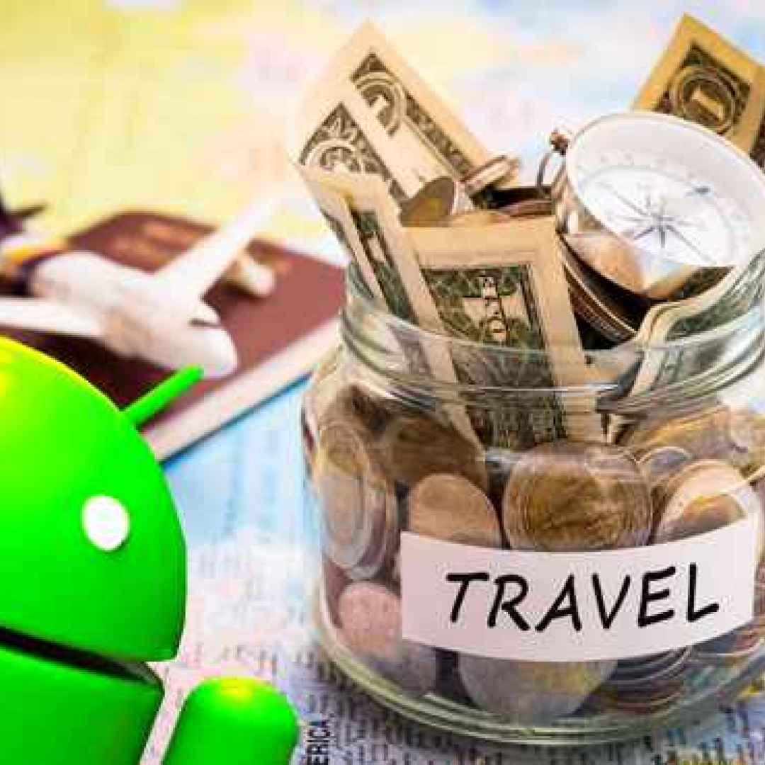 viaggio travel soldi android denaro