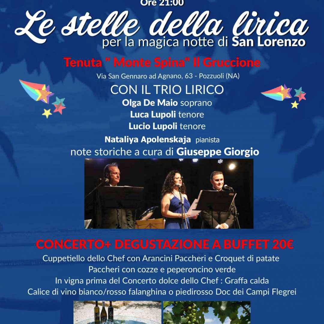 Notte Magica Verdi Note.Le Stelle Della Lirica Per La Magica Notte Di San Lorenzo
