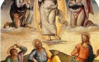 Religione: teofania  trasfigurazione del signore