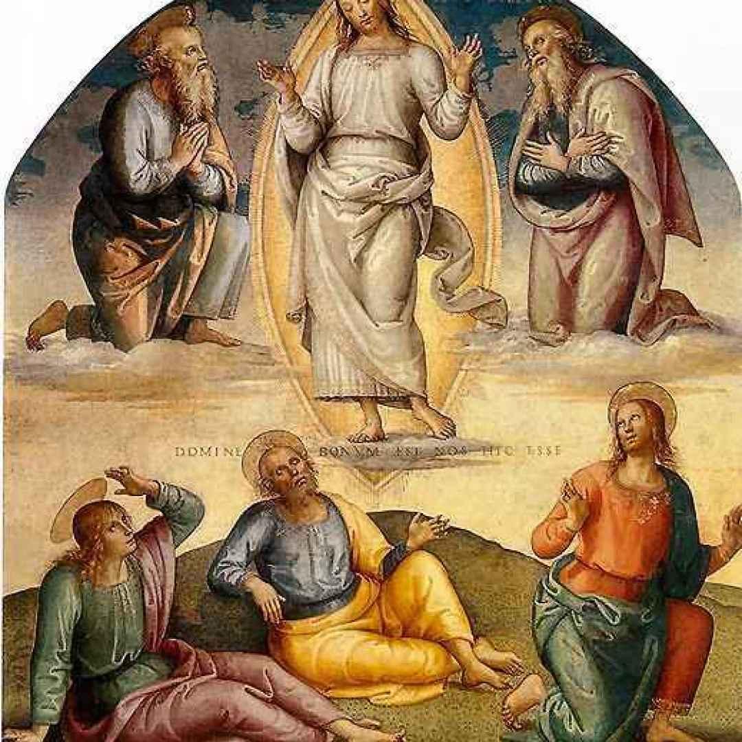 teofania  trasfigurazione del signore