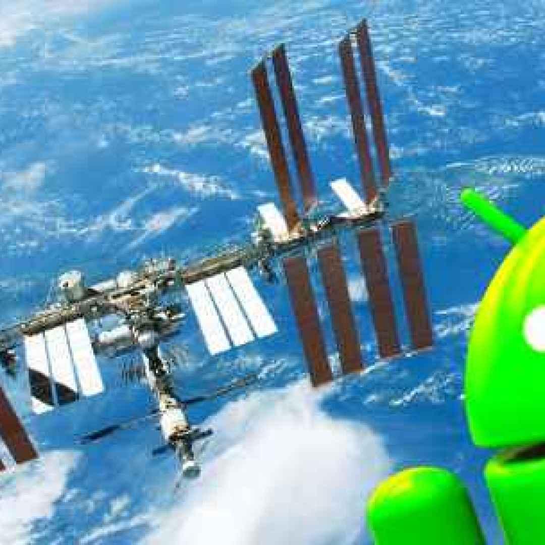 iss spazio android stazione spaziale app