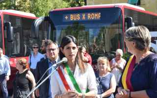 Roma: roma  trasporto pubblico  flambus