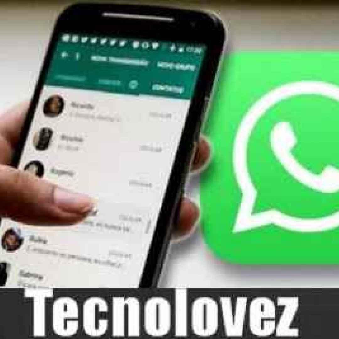 whatsapp effetto boomerang