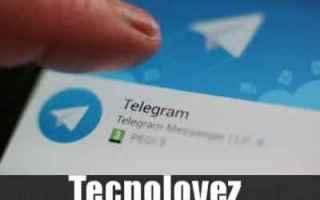 Telegram: telegram nuova funzione telegram