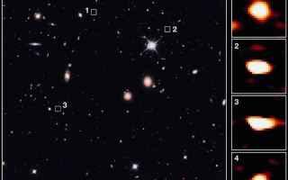 Astronomia: galassie  alma  vlt  hubble  spitzer
