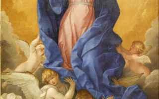 Religione: assunzione  cielo  santissima  vergine