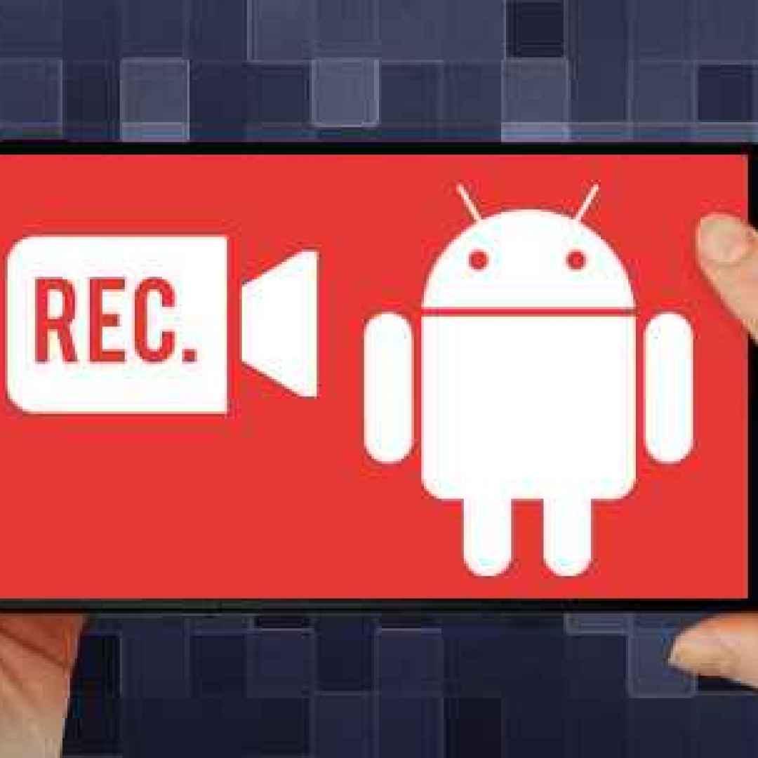 screen recorder android videogiochi apps