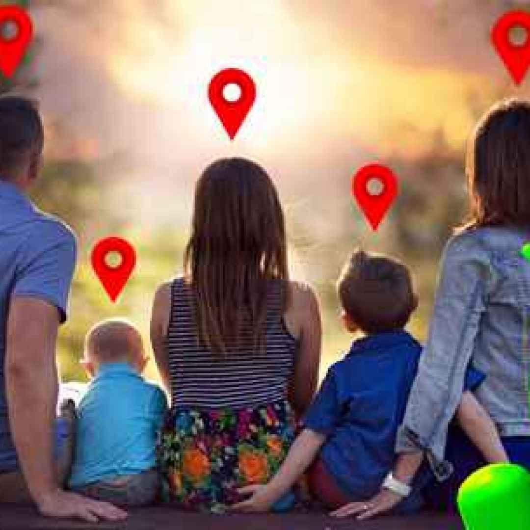 famiglia figli android bambini gps app