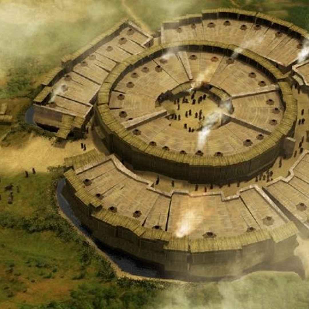 arkaim  stonehenge  russia