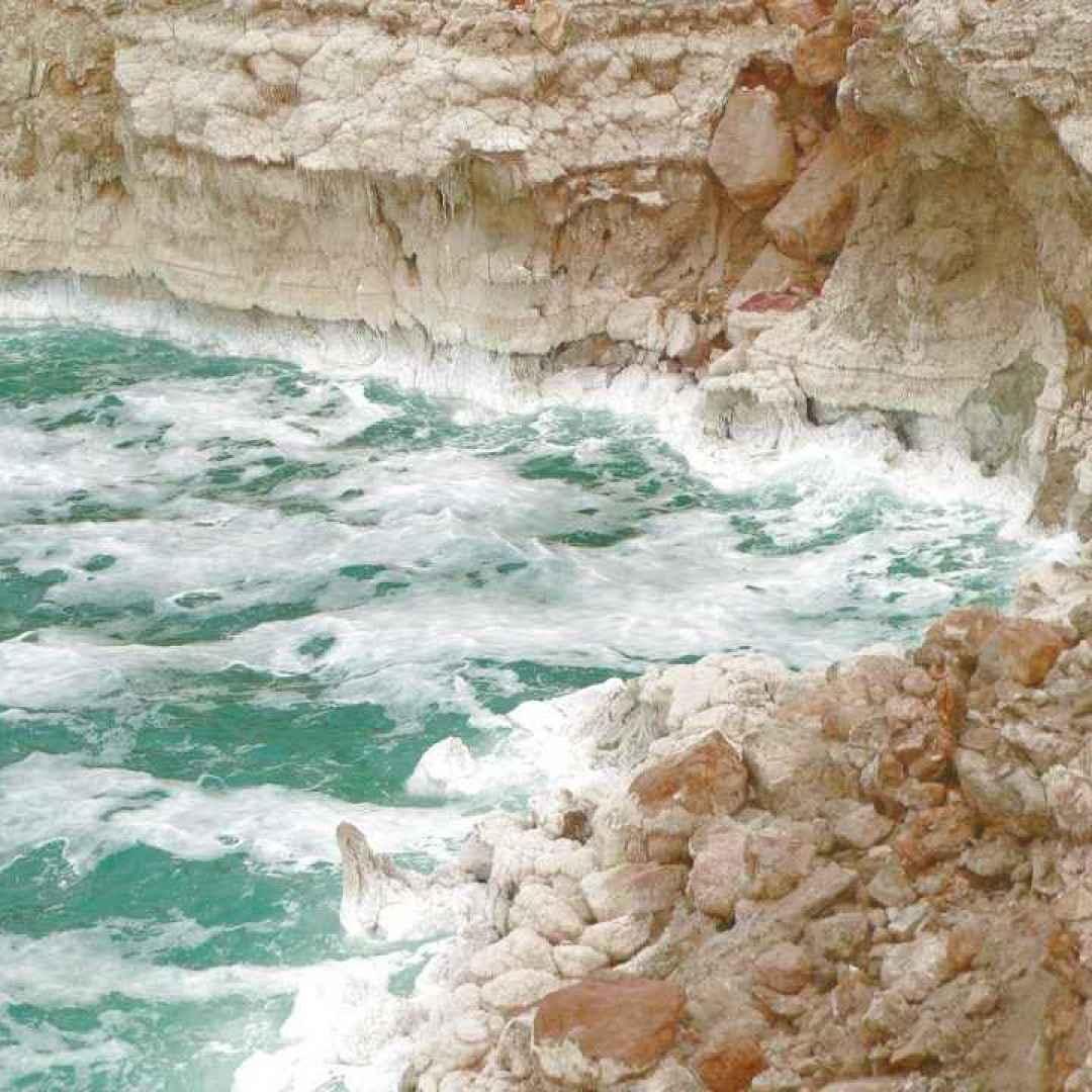 mar morto  israele  giordania  mare