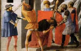 Religione: san giovanni battista  martirio