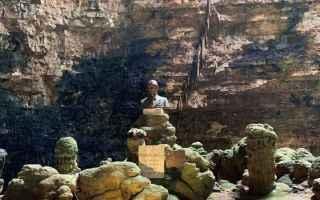 Viaggi: grotte di castellana  puglia  bari