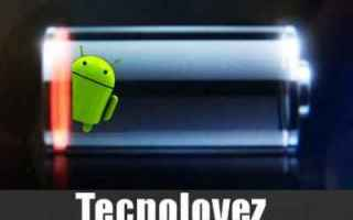 Android: battery drain android android batteria