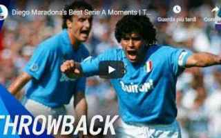 Serie A: diego maradona napoli calcio video