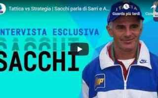 Serie A: sacchi sarri ancelotti calcio video