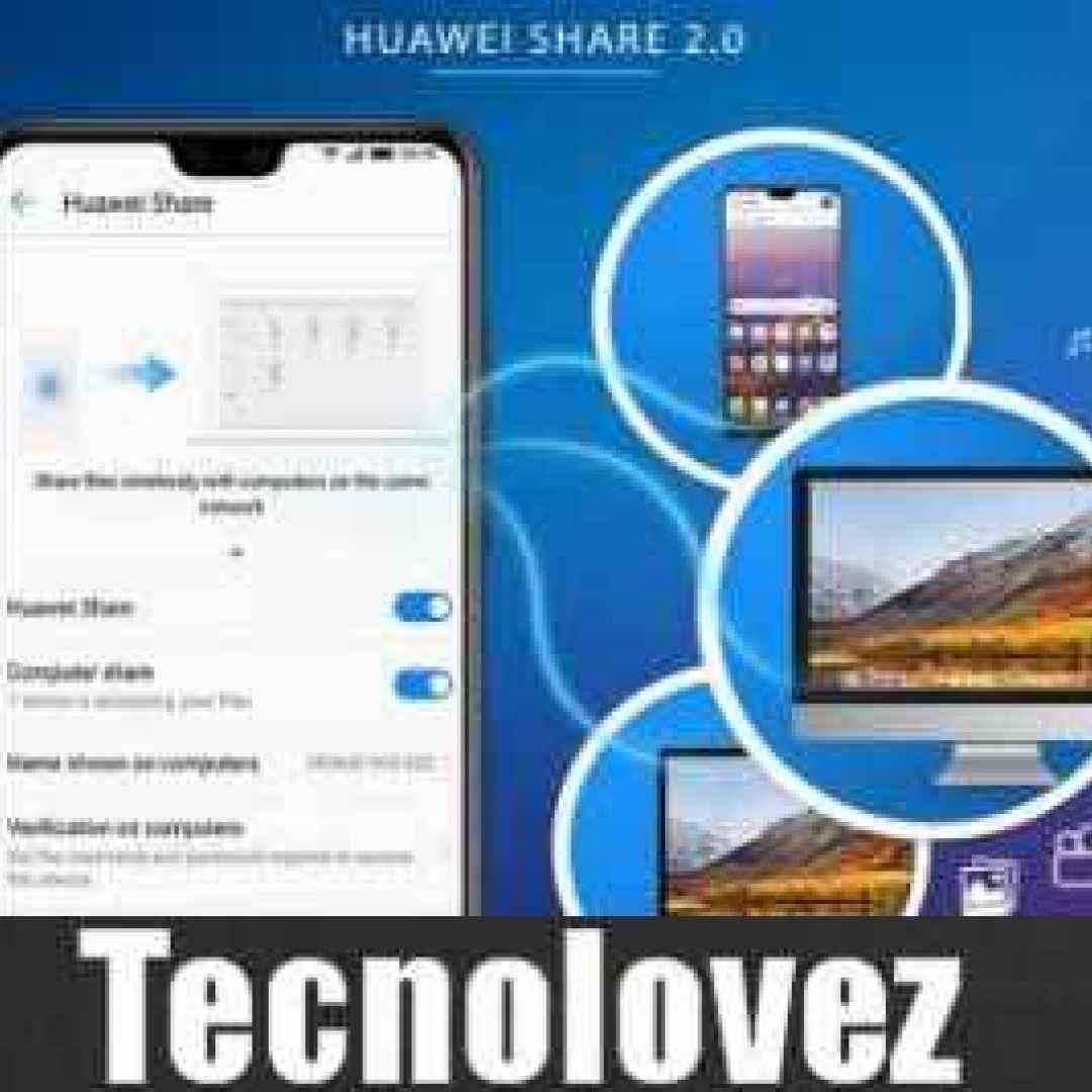 huawei share 2.0 trasferire file