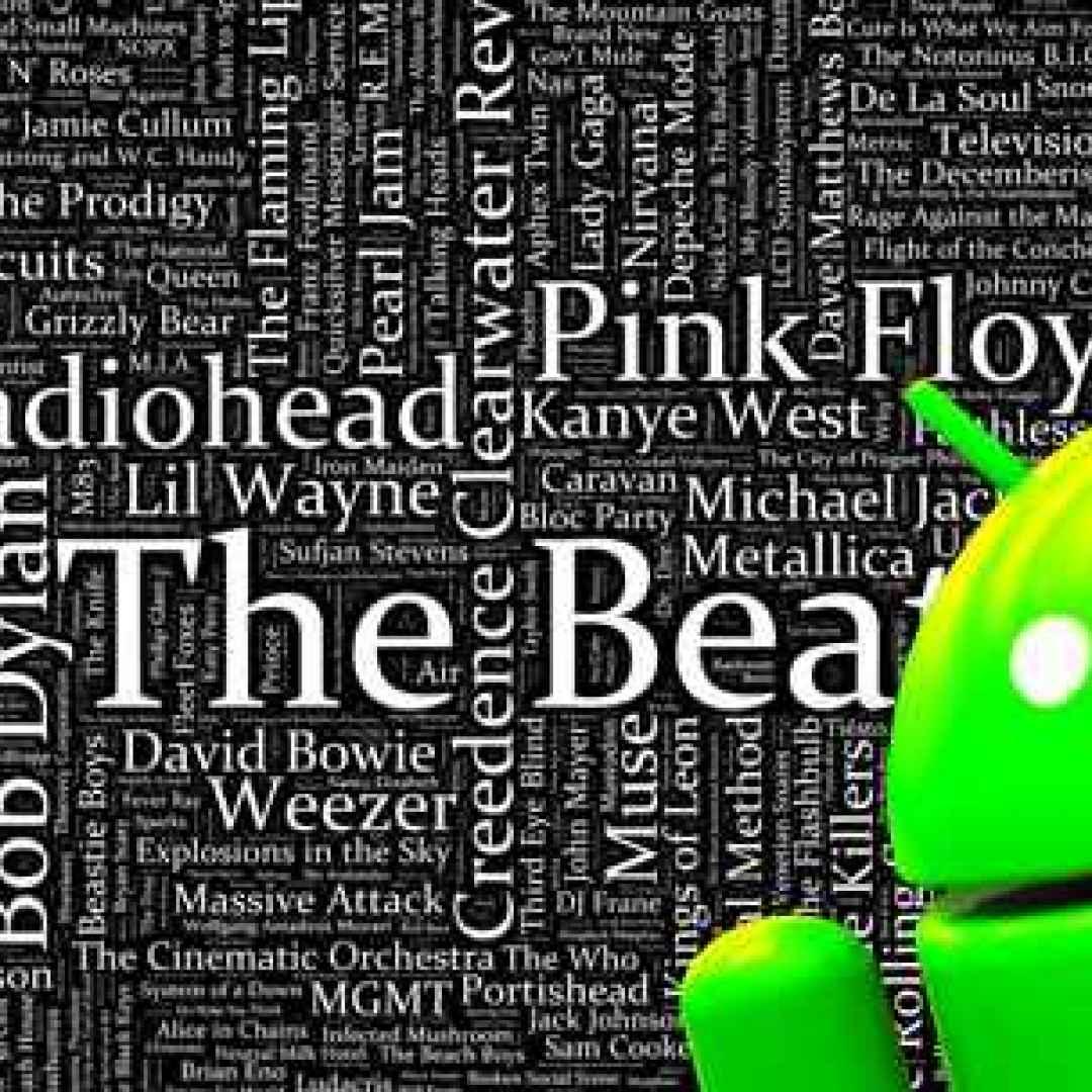 testi canzoni android canzoni musica