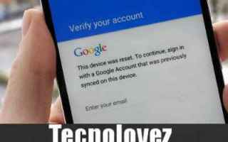Google: google account google bloccato