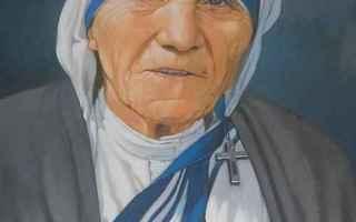 Religione: madre teresa di calcutta  santa