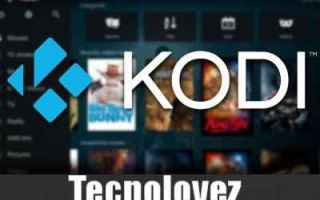 Software Video: kodi aggiornamento kodi kodi 18 download