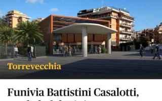 Roma: atac  roma  trasporto pubblico  funivia