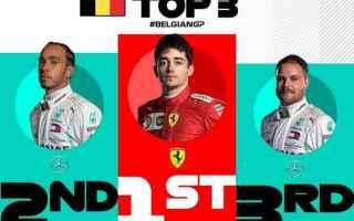 Il grande protagonista del Gran Premio dItalia, è stato Charles Leclerc che eguagliando Schumacher
