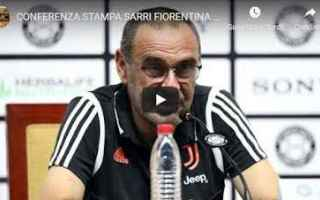 Serie A: juventus juve calcio video sarri