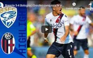 Serie A: brescia bologna video gol calcio