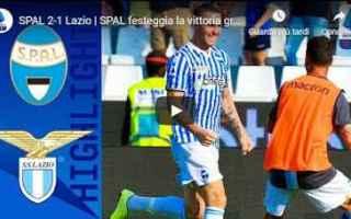 Serie A: spal lazio video calcio gol