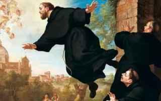 Religione: levitava  san giuseppe da copertino