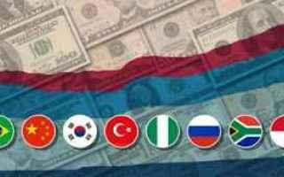 Borsa e Finanza: emergenti  cambio euro real  ordine stop