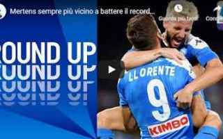 Serie A: mertens maradona napoli calcio video