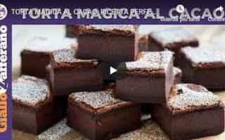 dolce ricetta torta cioccolato video