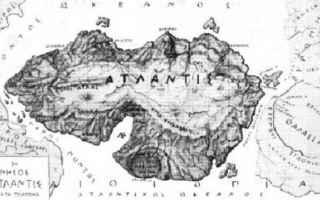 Cultura: atlantide  cataclisma  platone