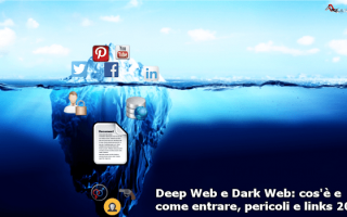 Internet: deep web  dark web  tor browser